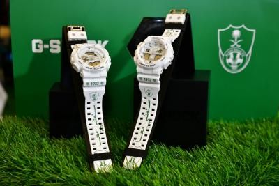 CASIO TEAMS UP WITH AL-AHLI SAUDI FC TO CREATE LIMITED-EDITION TIMEPIECES